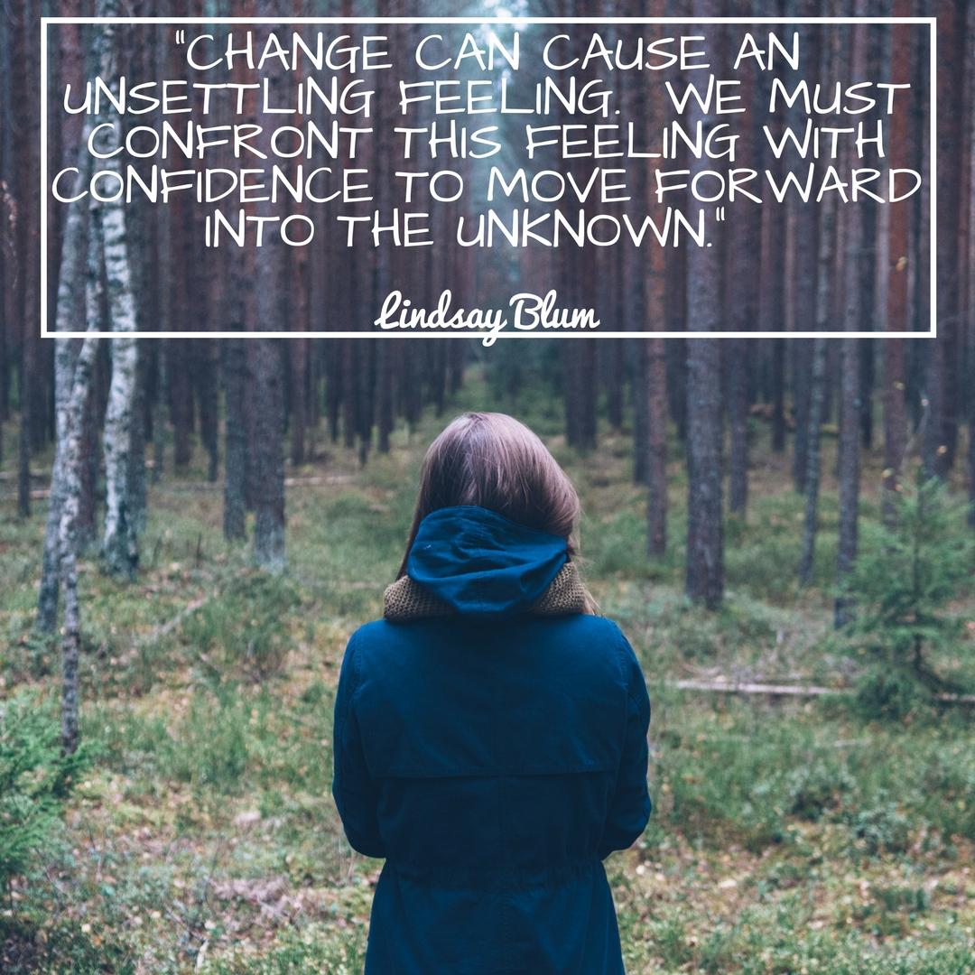 confonting change