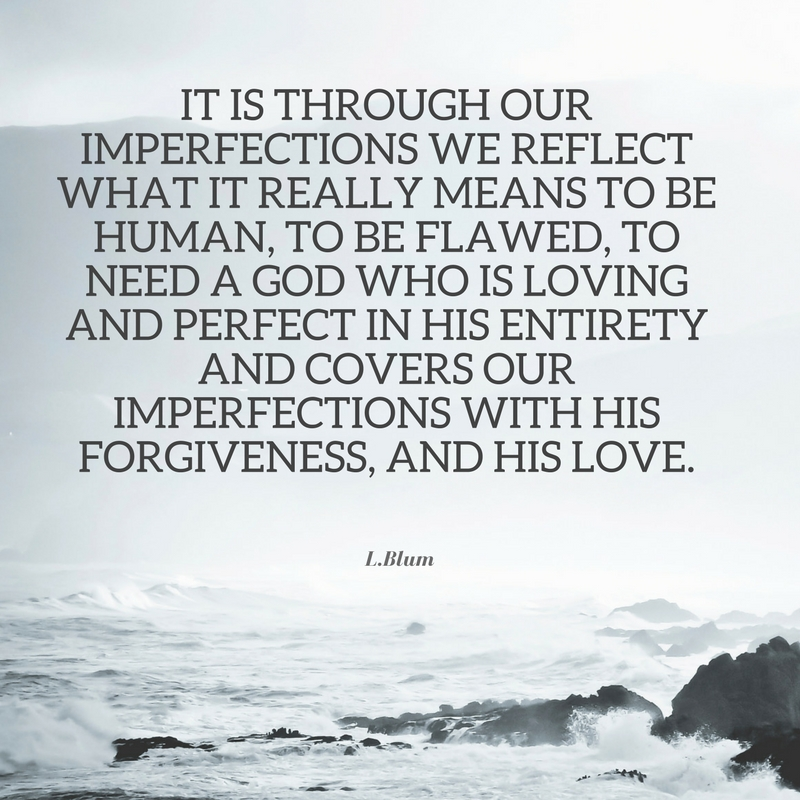 god imperfections