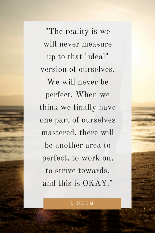 we will never be perfect